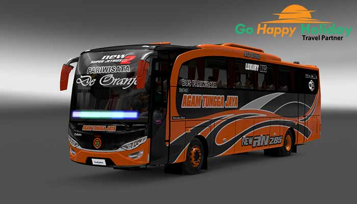 Sewa Bus Pariwisata di Ponorogo Terbaru Murah