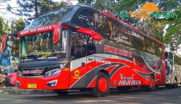 Sewa Bus pariwisata di Blitar terbaik harga murah