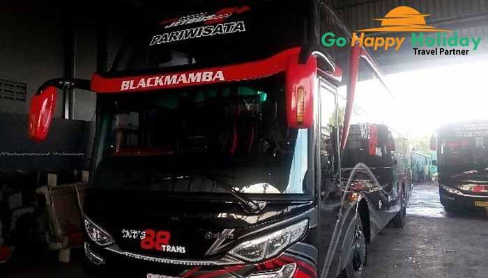 Sewa bus pariwisata di Genteng Terbaik murah mewah