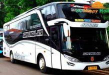 Sewa bus pariwisata di Madiun terbaru