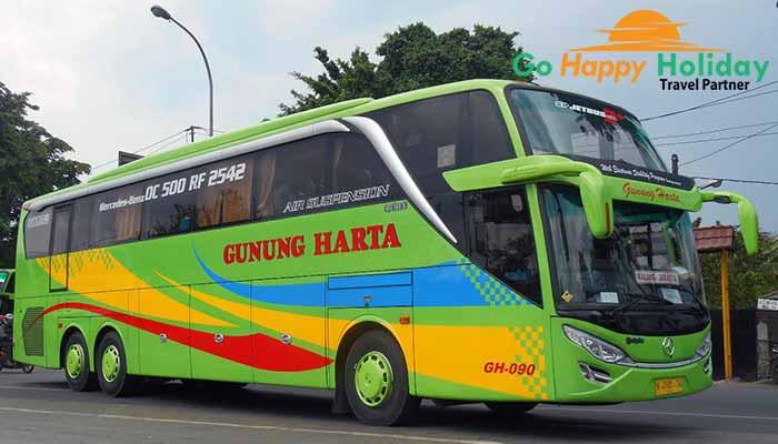 Sewa bus pariwisata di Mojokerto Terbaik murah