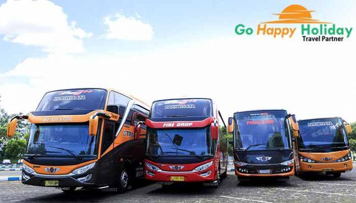 Sewa bus pariwisata di Pasuruan Terbaru murah
