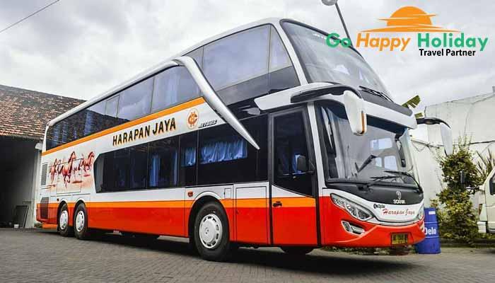Sewa bus pariwisata di Trenggalek terbaik harga murah