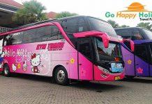 Sewa Bus Pariwisata PO KYM Trans Surabaya Murah Terbaik
