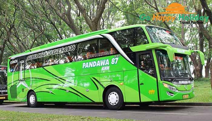 Sewa Bus Pariwisata PO Pandawa 87 Malang Murah Terbaru