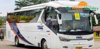 Sewa Bus Pariwisata PO Trac Surabaya Murah