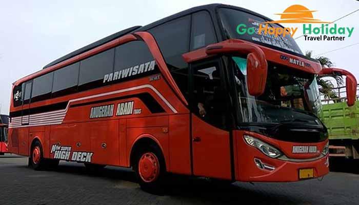 Harga Sewa bus pariwisata di Gresik Terbaru murah