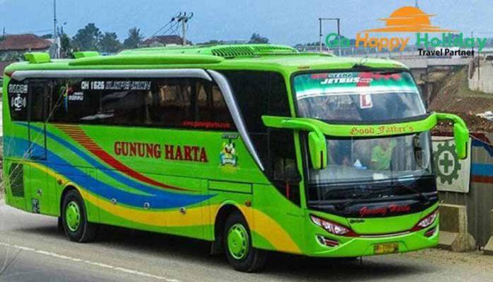 Sewa Bus Pariwisata PO Gunung Harta Malang Murah Terbaru